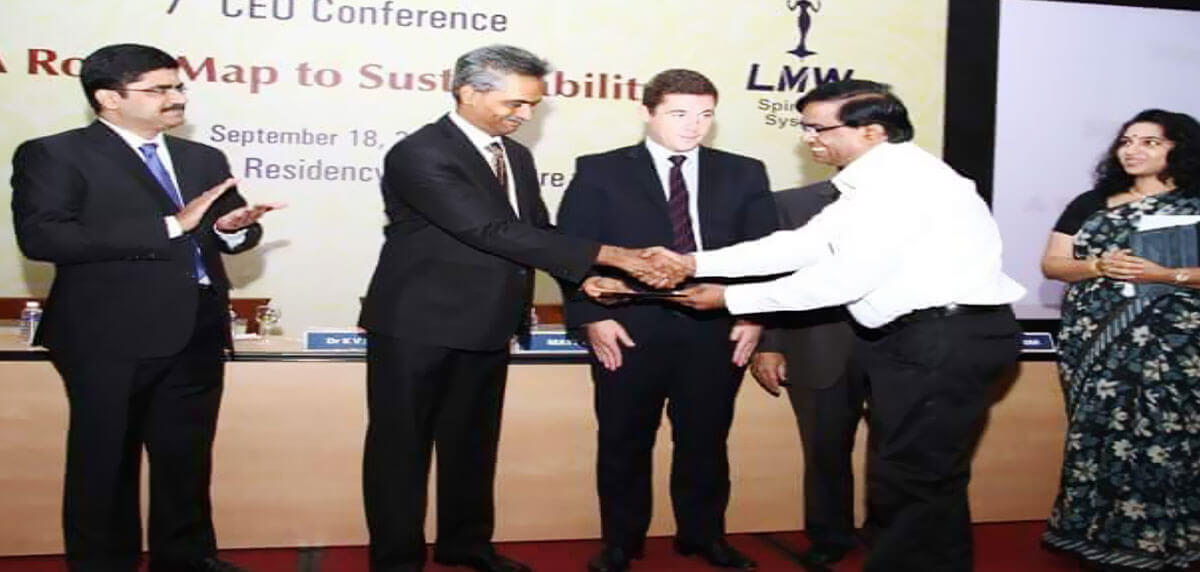GHCL Team Receiving Best Mill Award By SIMA