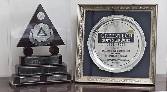 green tech safety silver award 2003-2004