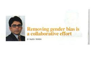 Removing gender bias is a collaborative effort