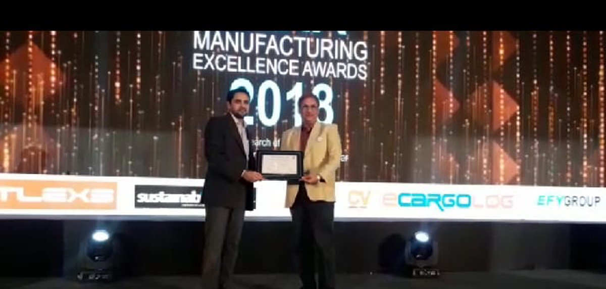 MR. R S Jalan, MD, GHCL Bagged Best CEO Award
