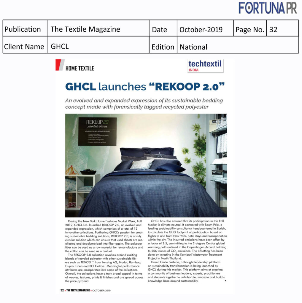 GHCL-The Textile Magazine